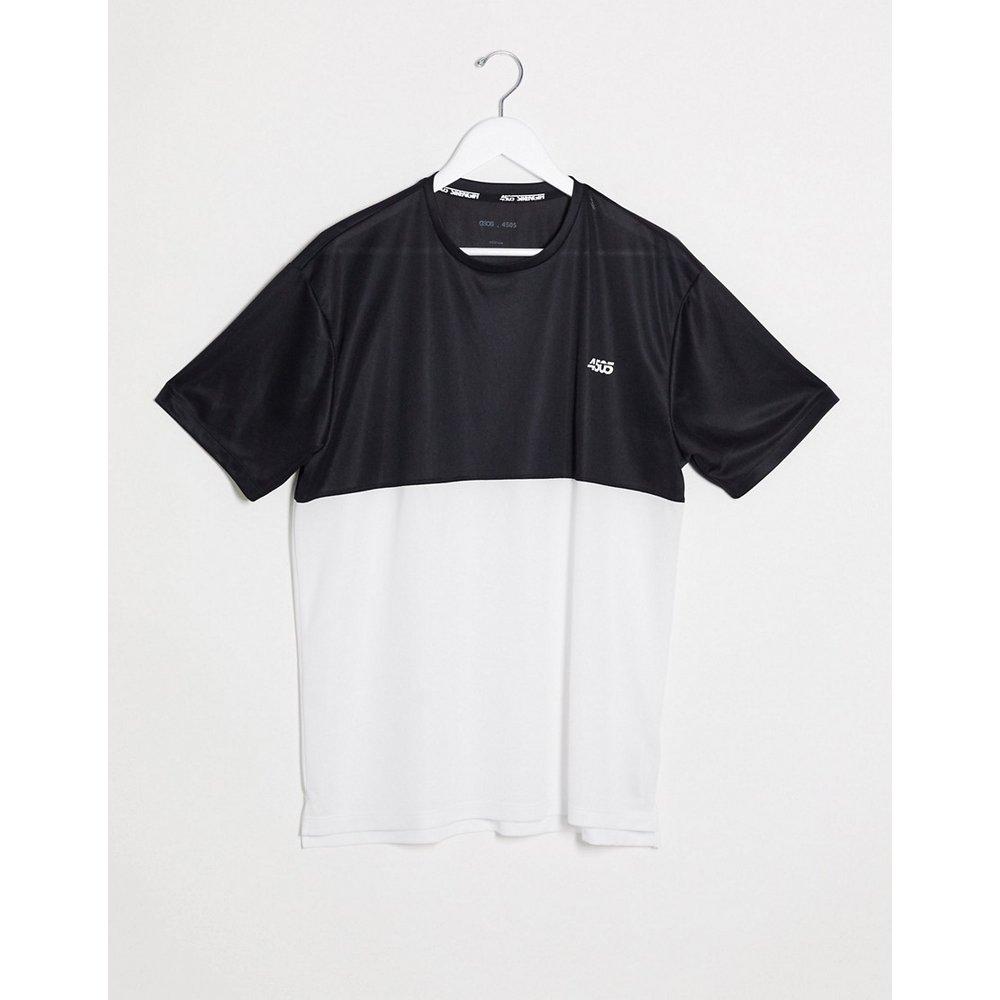 T-shirt de sport oversize à empiècements contrastés - ASOS 4505 - Modalova