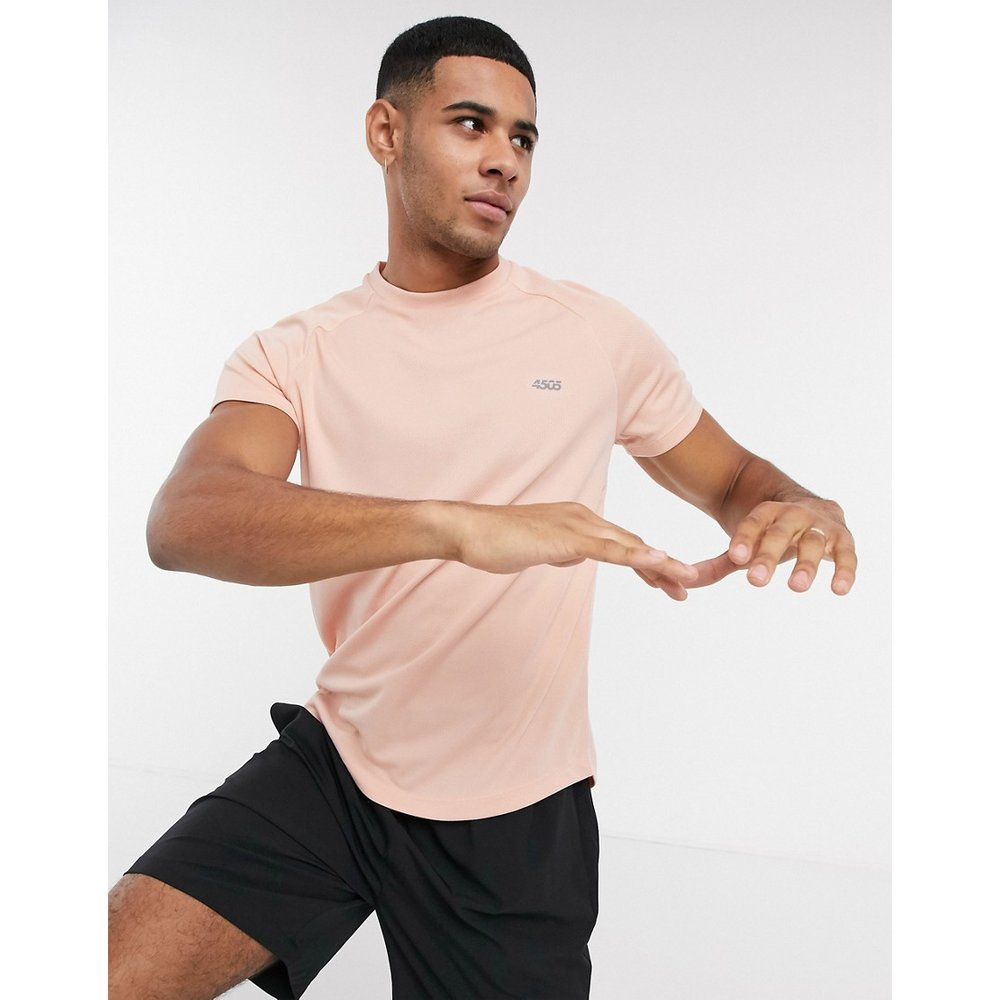 ASOS 4505 - T-shirt de sport - Rose - ASOS 4505 - Modalova