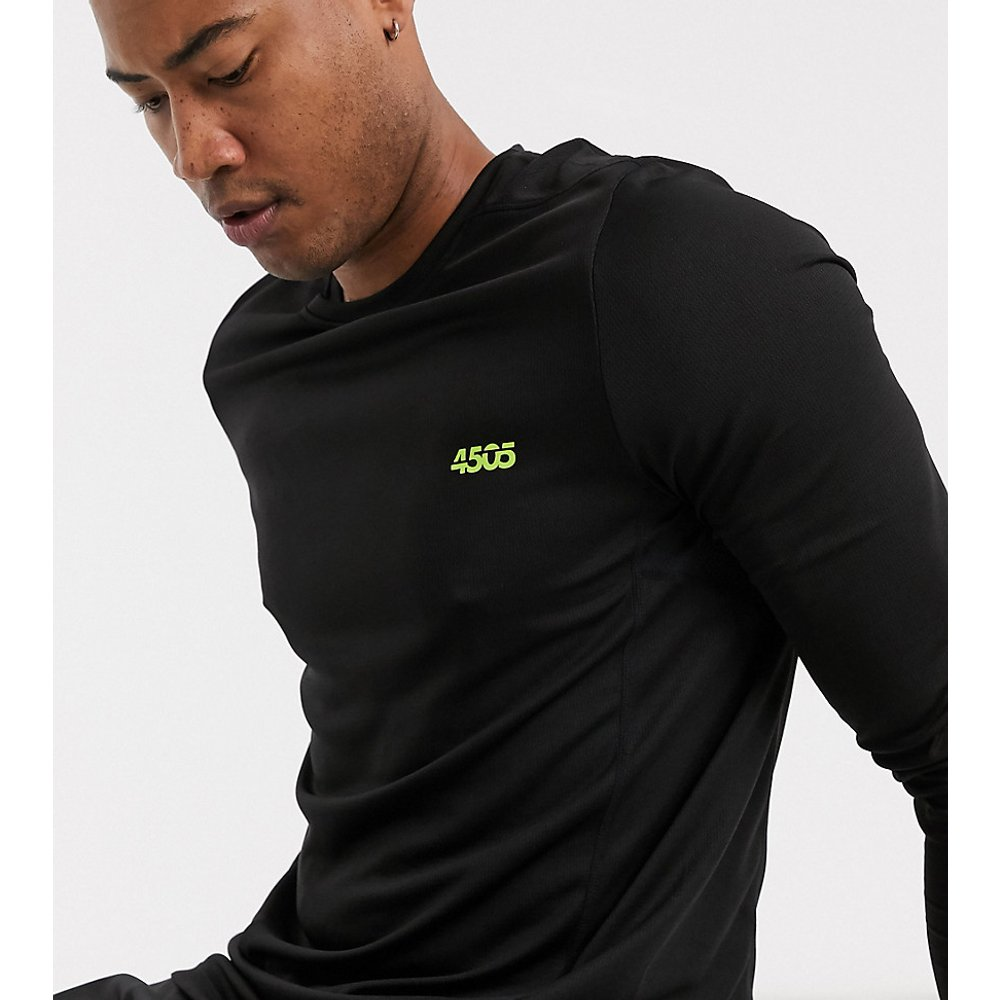 Tall - T-shirt de sport à manches longues - ASOS 4505 - Modalova