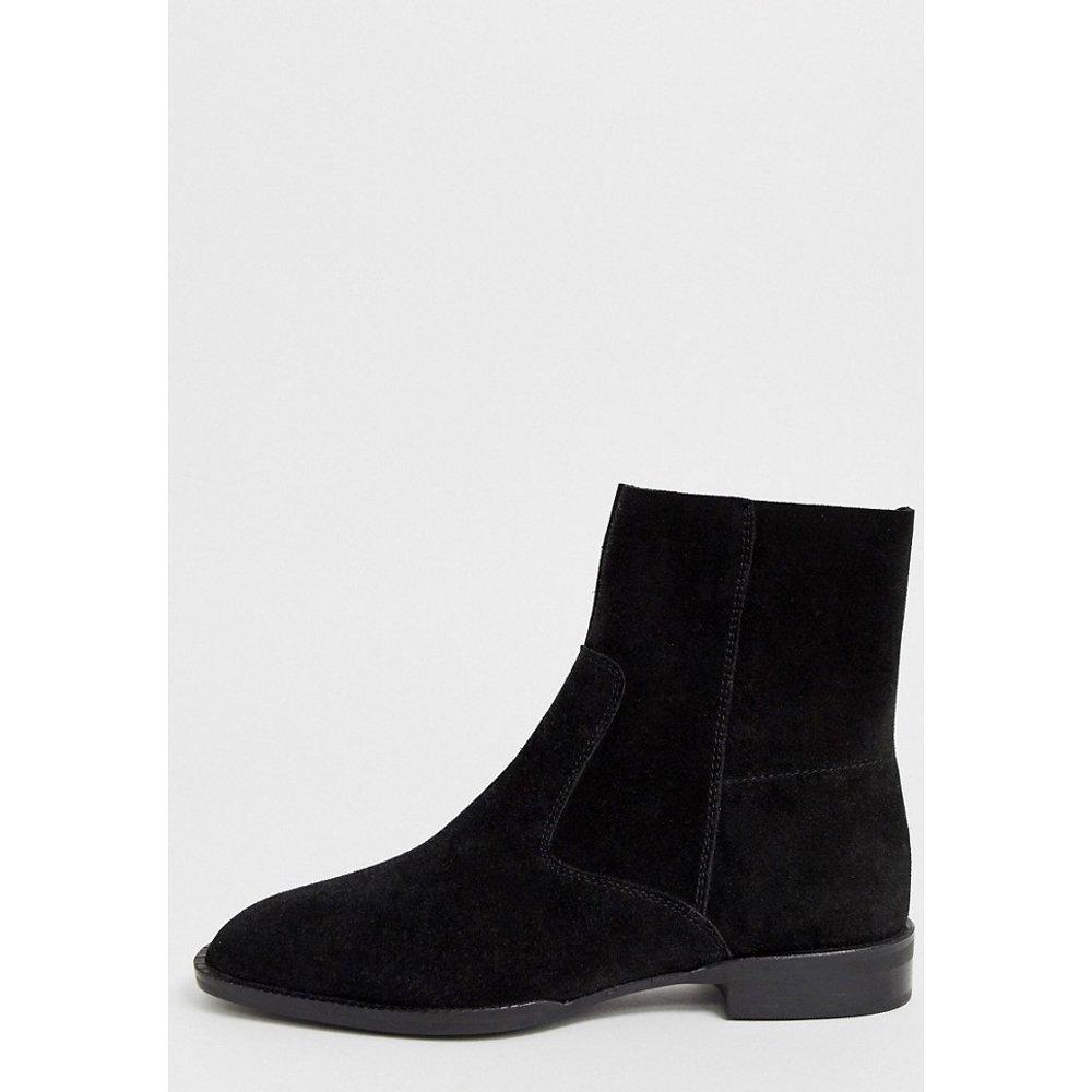 Alfie - Bottines chaussettes en daim - ASOS DESIGN - Modalova