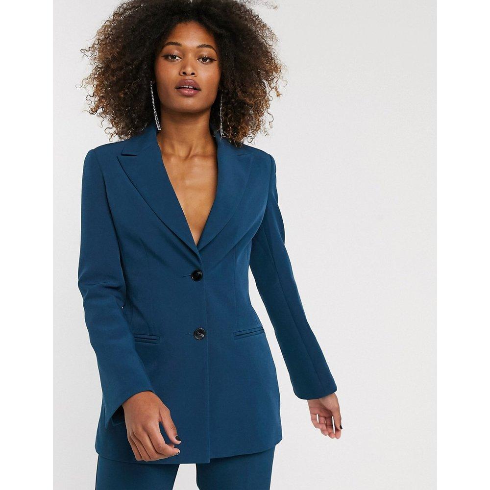 Blazer de costume - Bleu sarcelle - ASOS DESIGN - Modalova