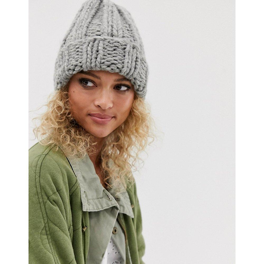 Bonnet en maille chunky - ASOS DESIGN - Modalova