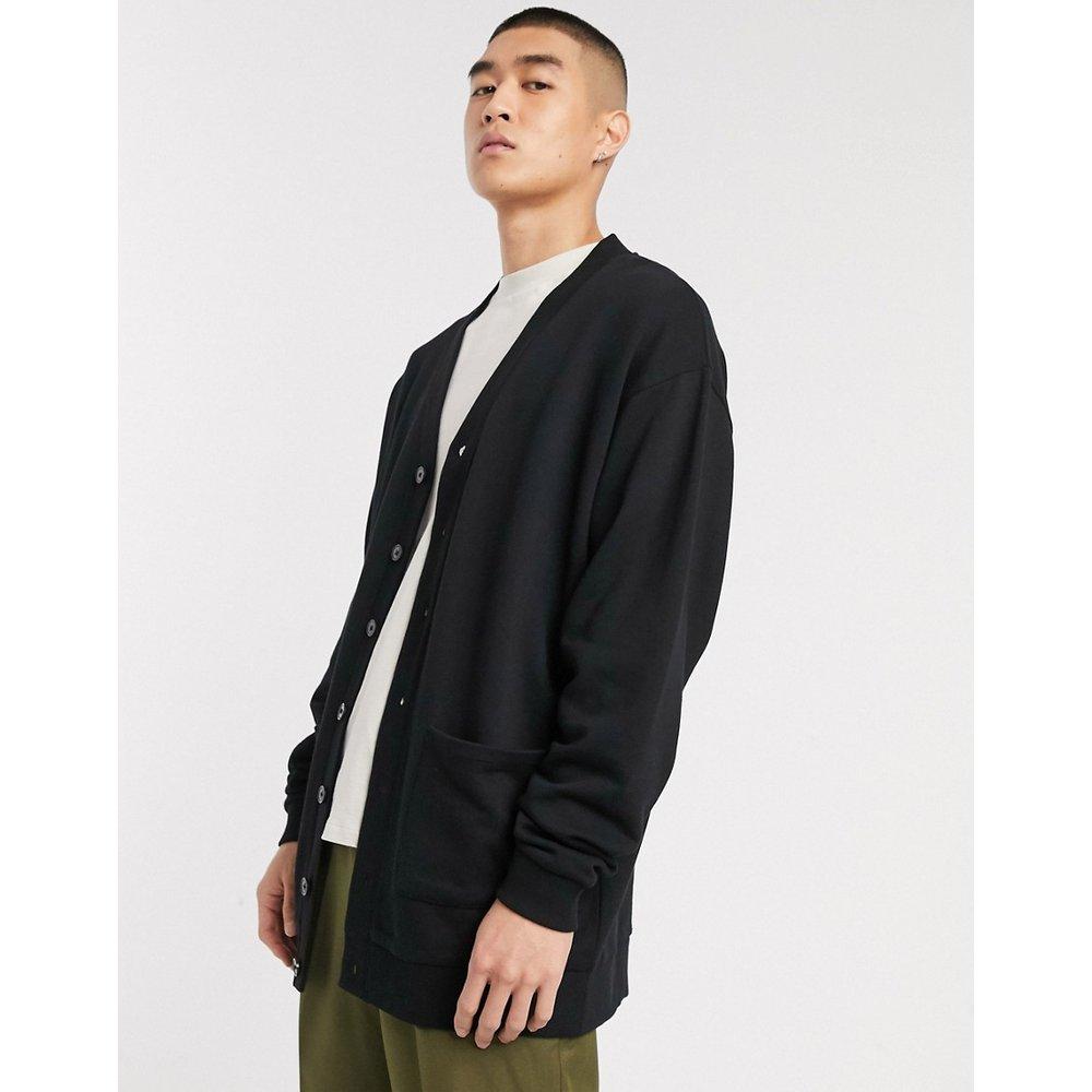 Cardigan long oversize en jersey - ASOS DESIGN - Modalova