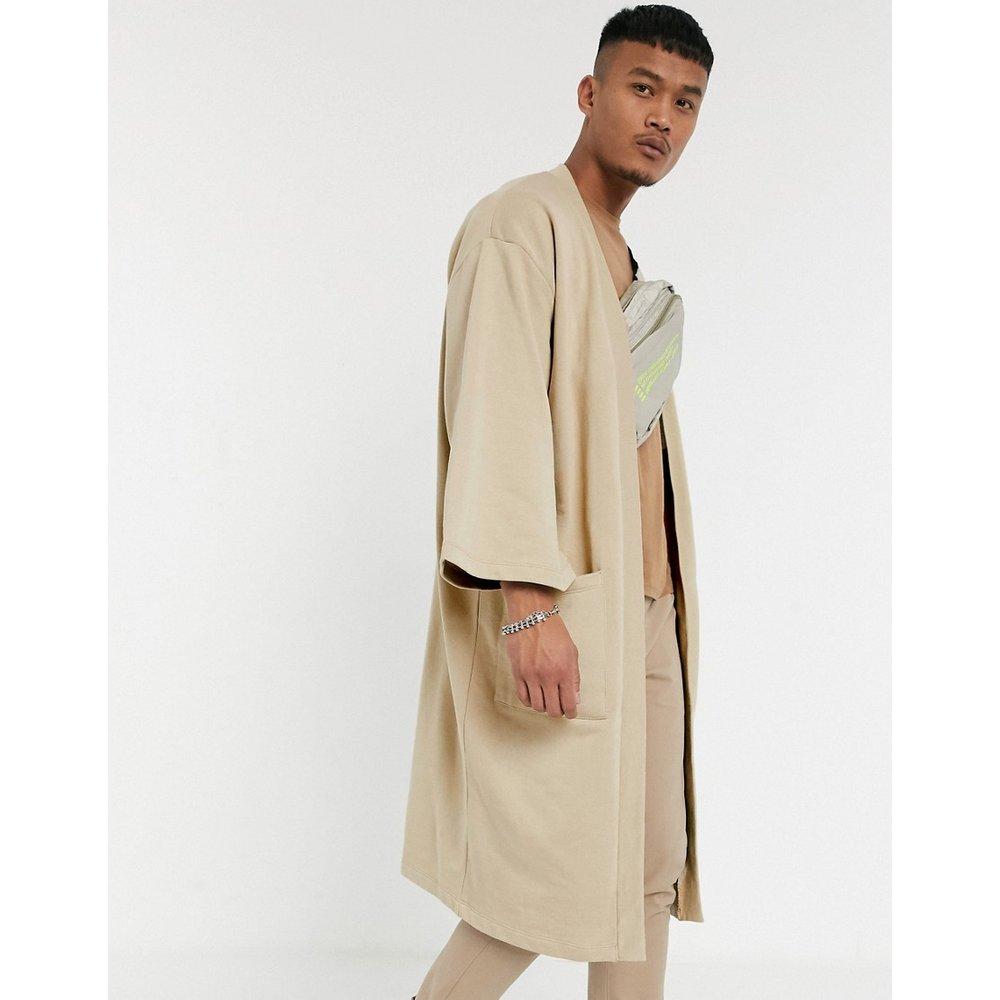 Cardigan manches kimono - Taupe délavé - ASOS DESIGN - Modalova