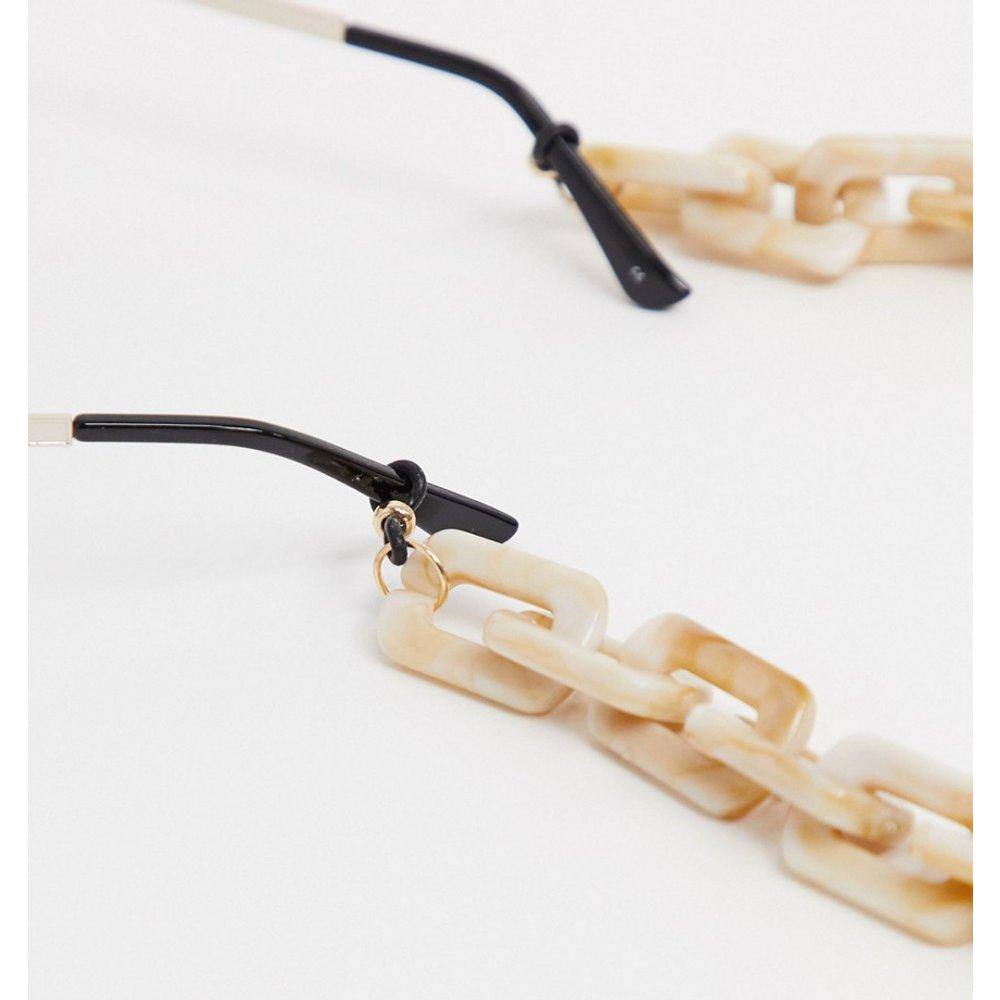Chaîne chunky pour lunettes de soleil - ASOS DESIGN - Modalova