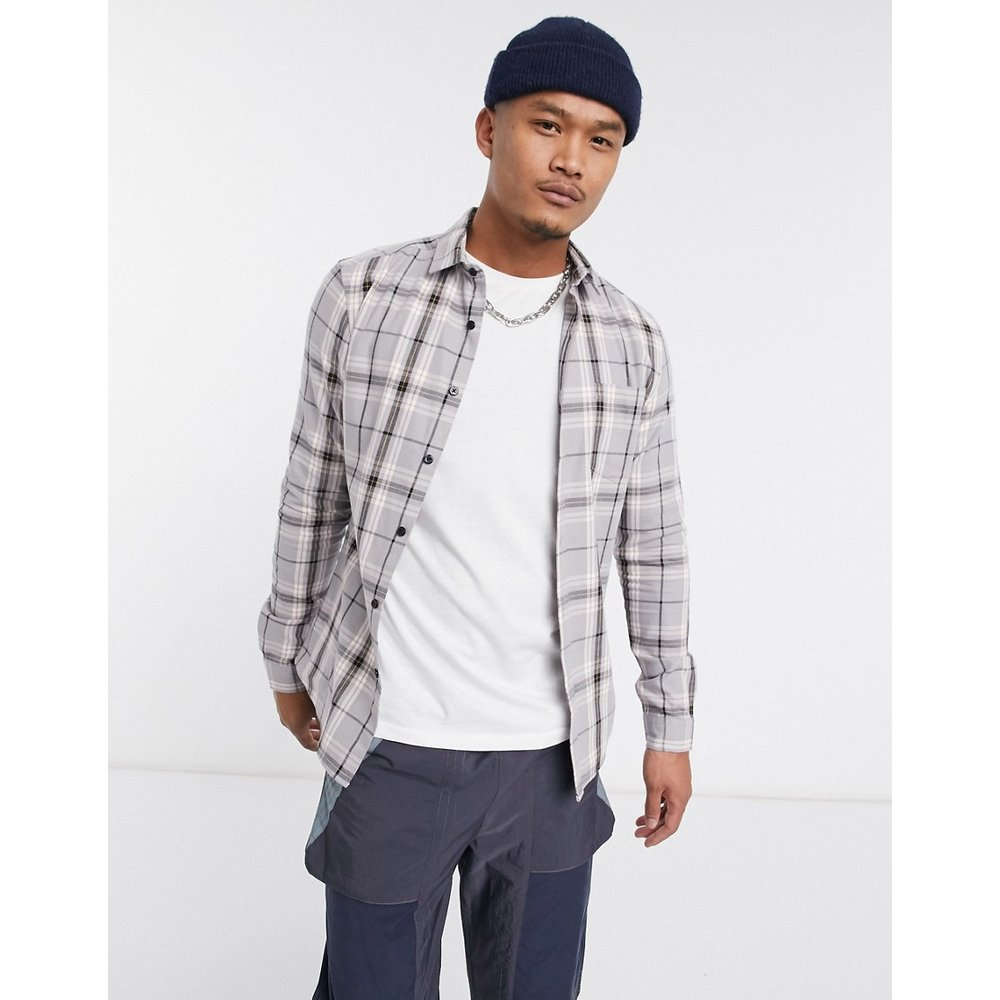 Chemise à carreaux coupe skinny - ASOS DESIGN - Modalova