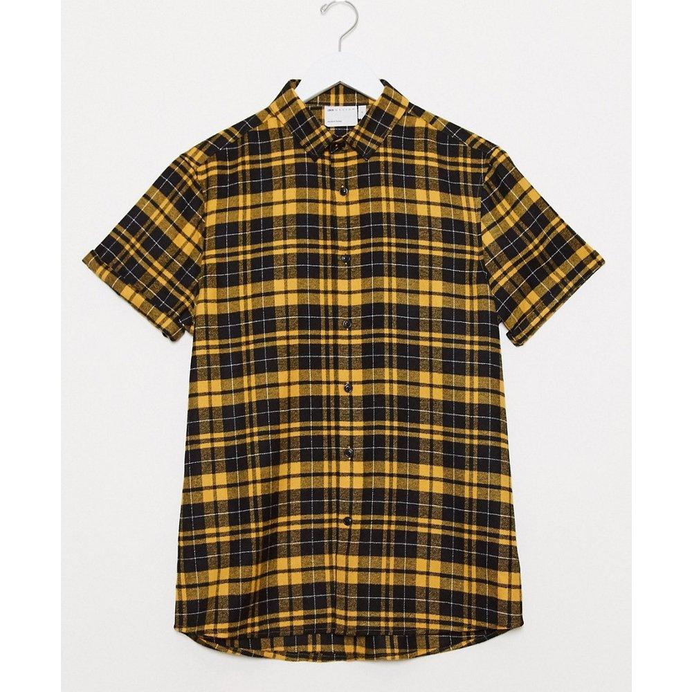 Chemise coupe classique à carreaux écossais - Noir et - ASOS DESIGN - Modalova