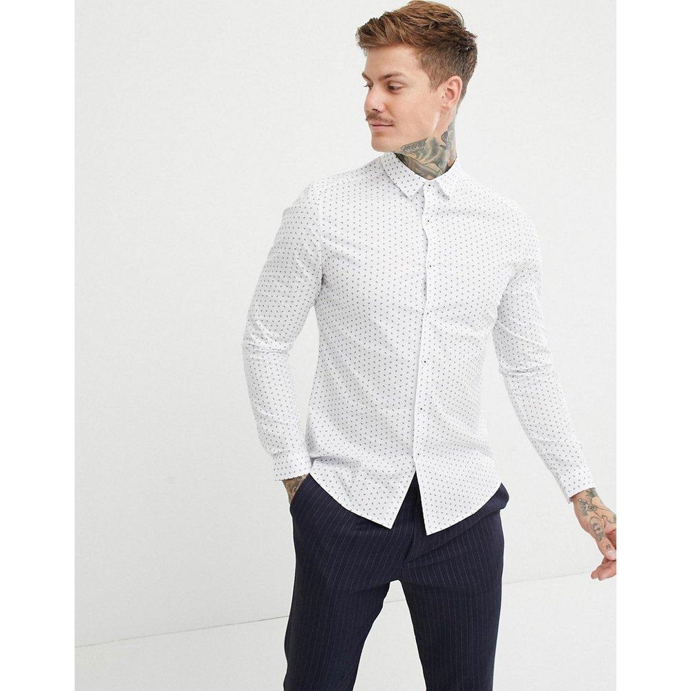 Chemise de bureau habillée slim à petits motifs - ASOS DESIGN - Modalova