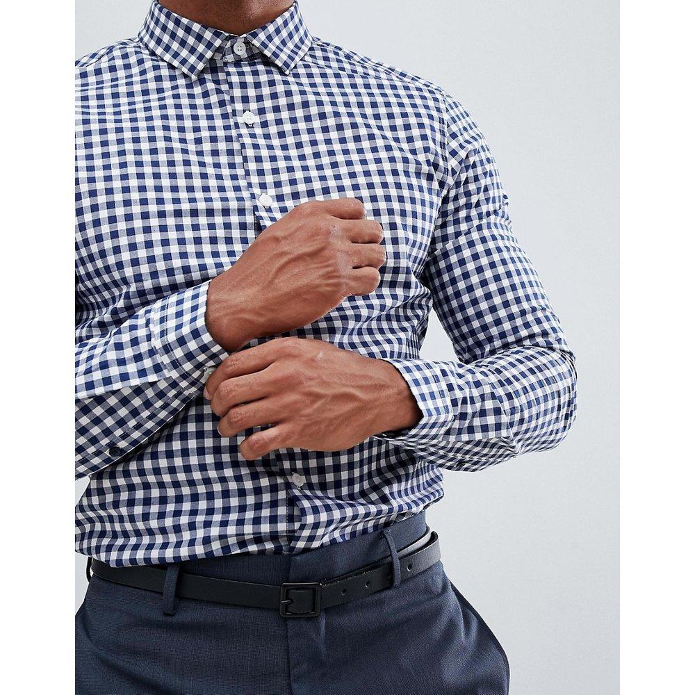 Chemise élégante ajustée à carreaux - ASOS DESIGN - Modalova