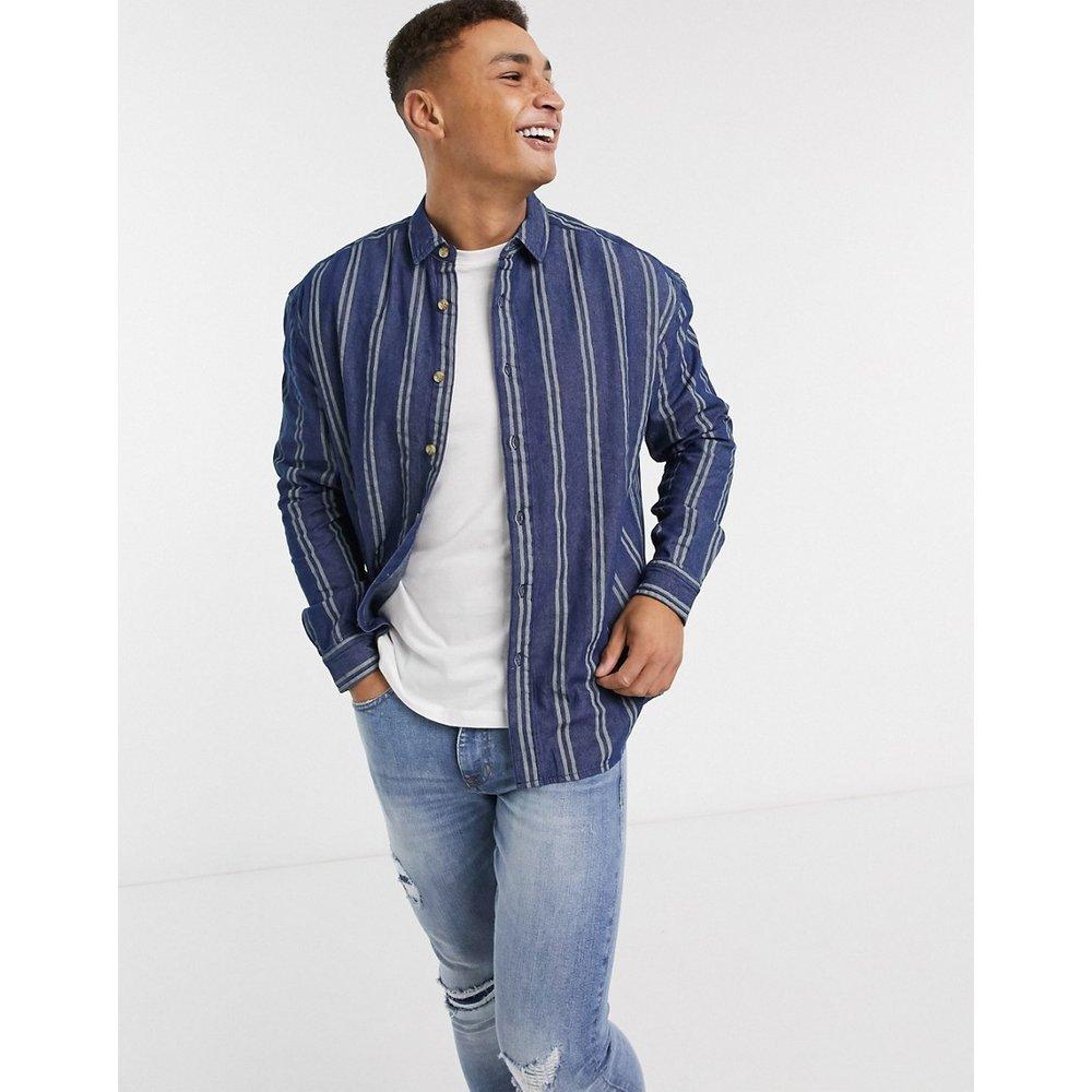 Chemise en jean oversize à rayures style 90s - ASOS DESIGN - Modalova