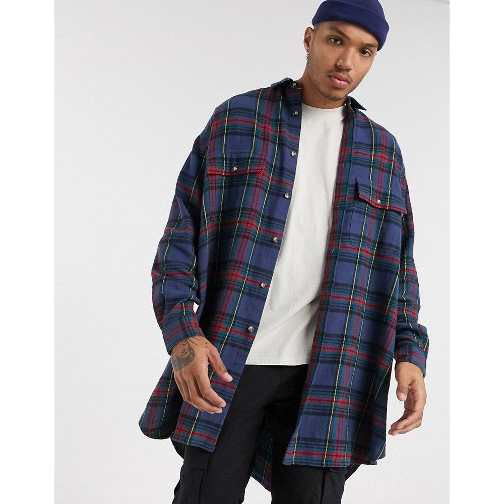 Chemise oversize à carreaux écossais style 90s - ASOS DESIGN - Modalova