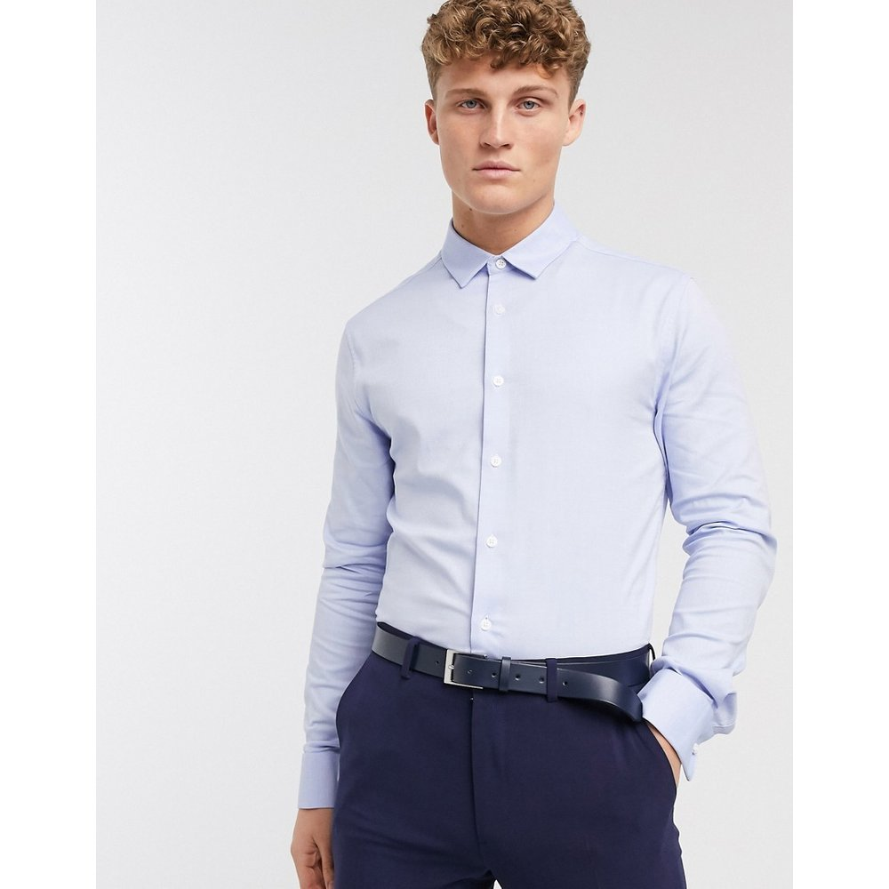 Chemise Oxford habillée à coupe ajustée - ASOS DESIGN - Modalova