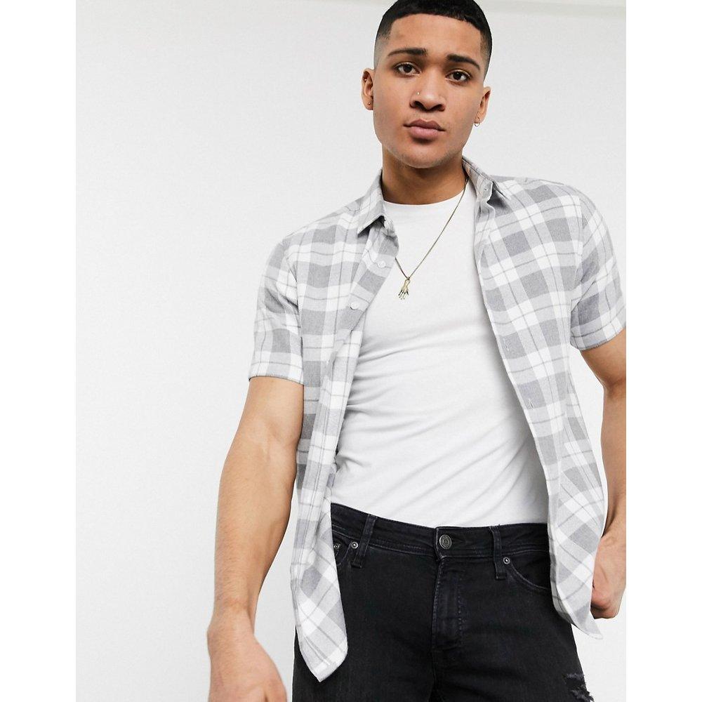Chemise stretch ajustée à carreaux - ASOS DESIGN - Modalova
