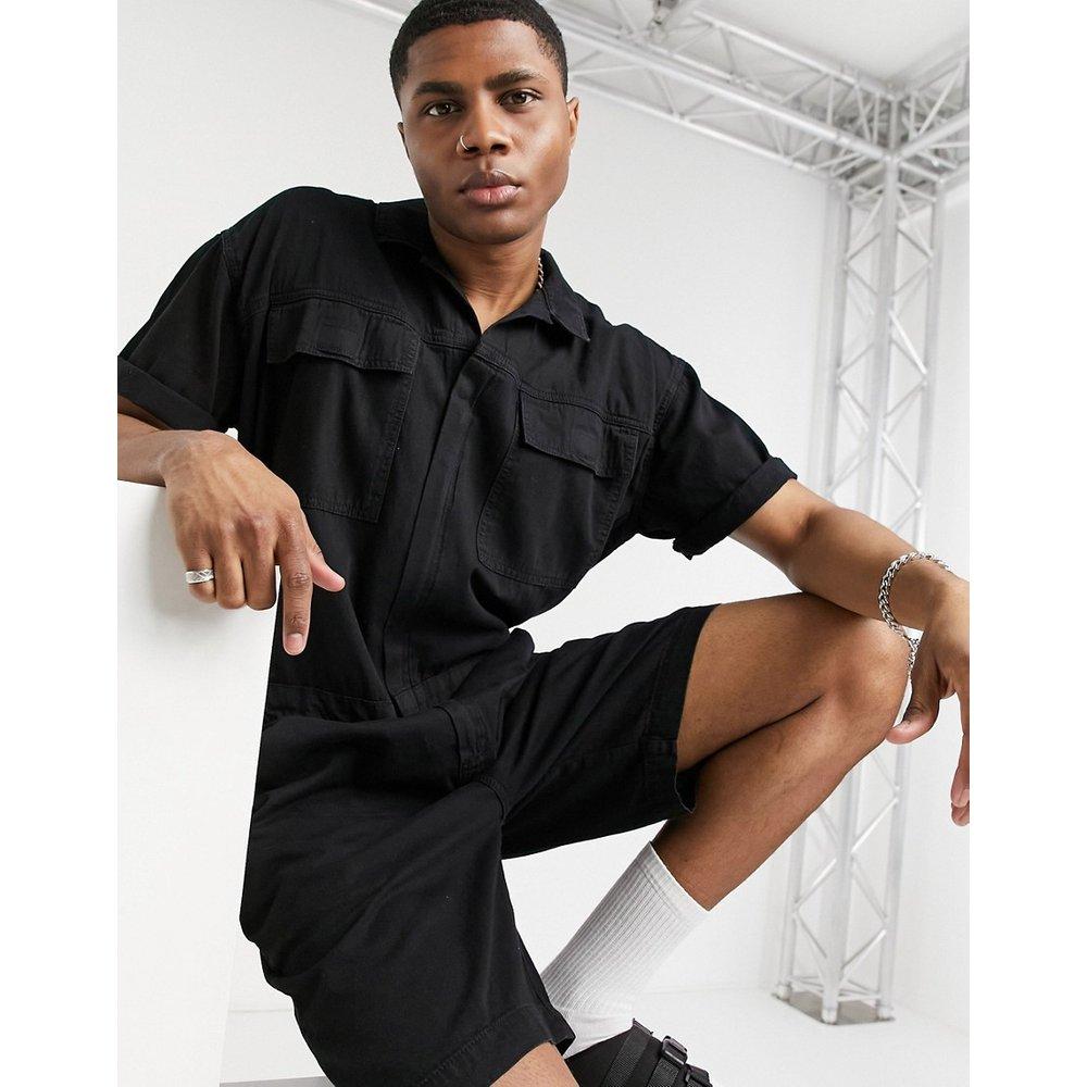 Combinaison courte en jean avec poches - ASOS DESIGN - Modalova