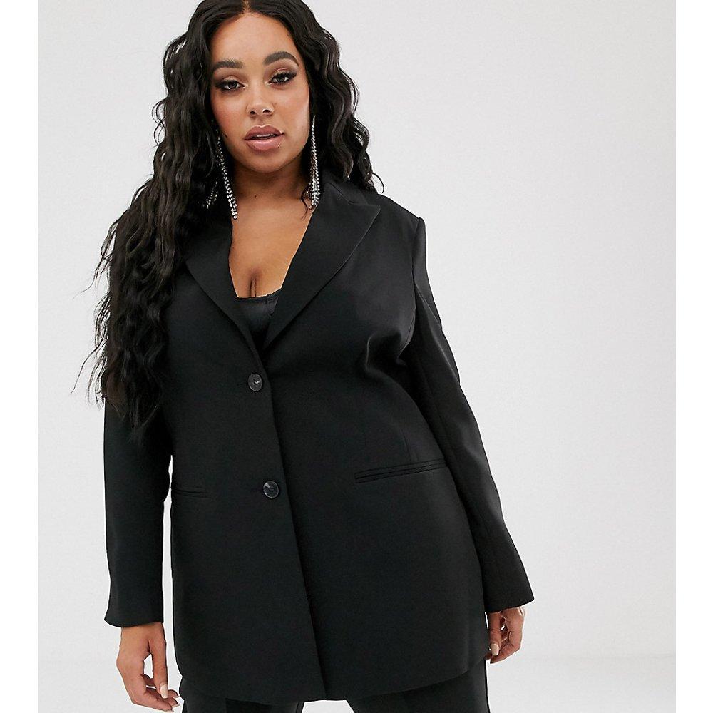 ASOS DESIGN Curve - Blazer de costume cintré de couleur vive - ASOS Curve - Modalova