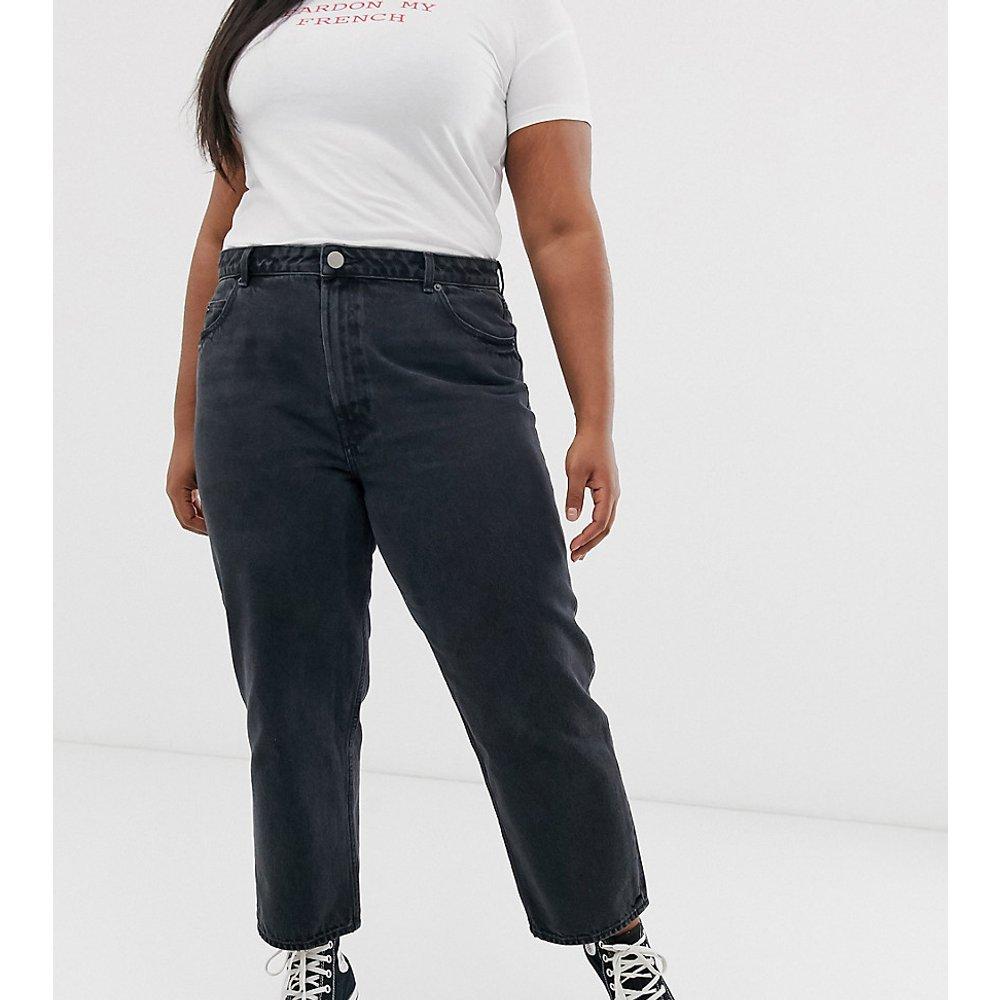 ASOS DESIGN Curve - Florence - Jean droit authentique en tissu recyclé - délavé - ASOS Curve - Modalova