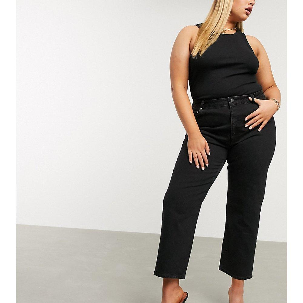 ASOS DESIGN Curve - Jean droit slim stretch à taille haute - ASOS Curve - Modalova