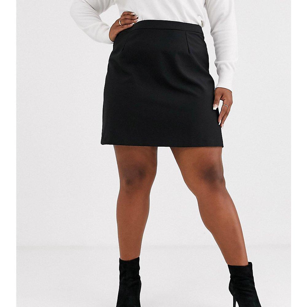 ASOS DESIGN Curve - Mini-jupe trapèze ajustée - ASOS Curve - Modalova