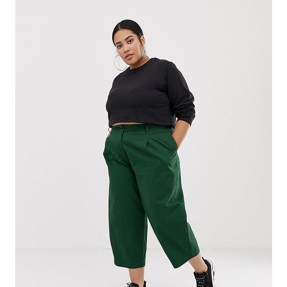ASOS DESIGN Curve - Pantalon bouffant avec laçage à l'arrière - ASOS Curve - Modalova