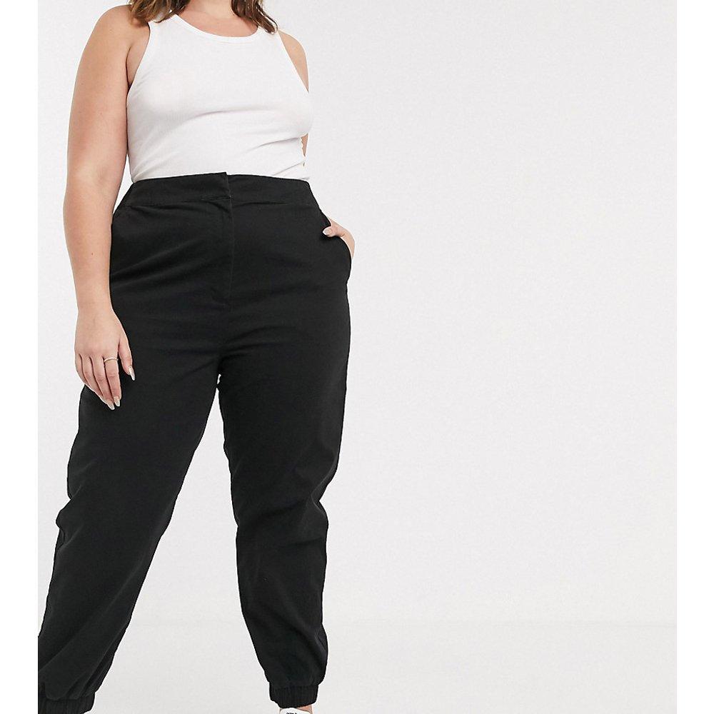 ASOS DESIGN Curve - Pantalon chino taille haute avec ourlet style jogger - ASOS Curve - Modalova