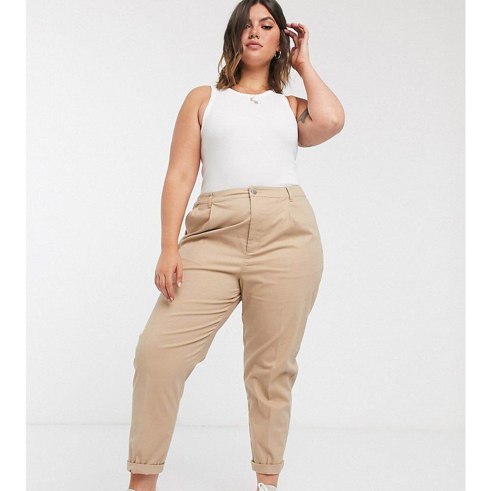 ASOS DESIGN Curve - Pantalon chino - Taupe - ASOS Curve - Modalova