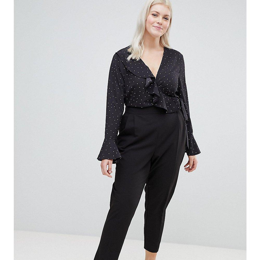 ASOS DESIGN Curve - Pantalon fuselé taille haute - ASOS Curve - Modalova