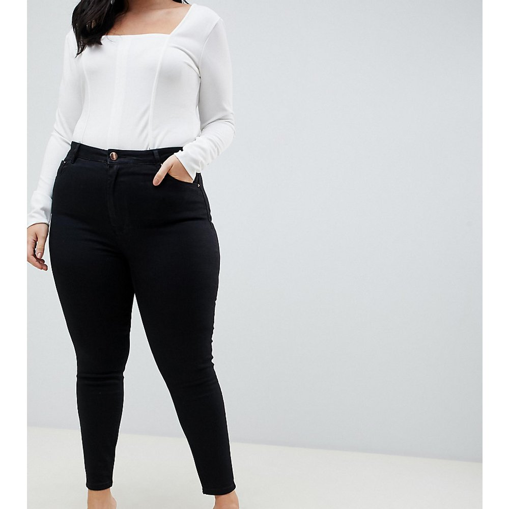 ASOS DESIGN Curve - Ridley - Jean skinny à taille haute - pur - ASOS Curve - Modalova
