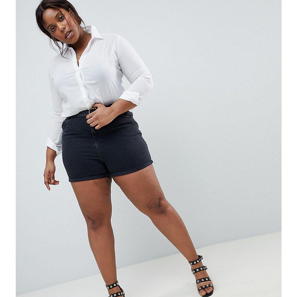ASOS DESIGN Curve - Short mom en jean - délavé - ASOS Curve - Modalova