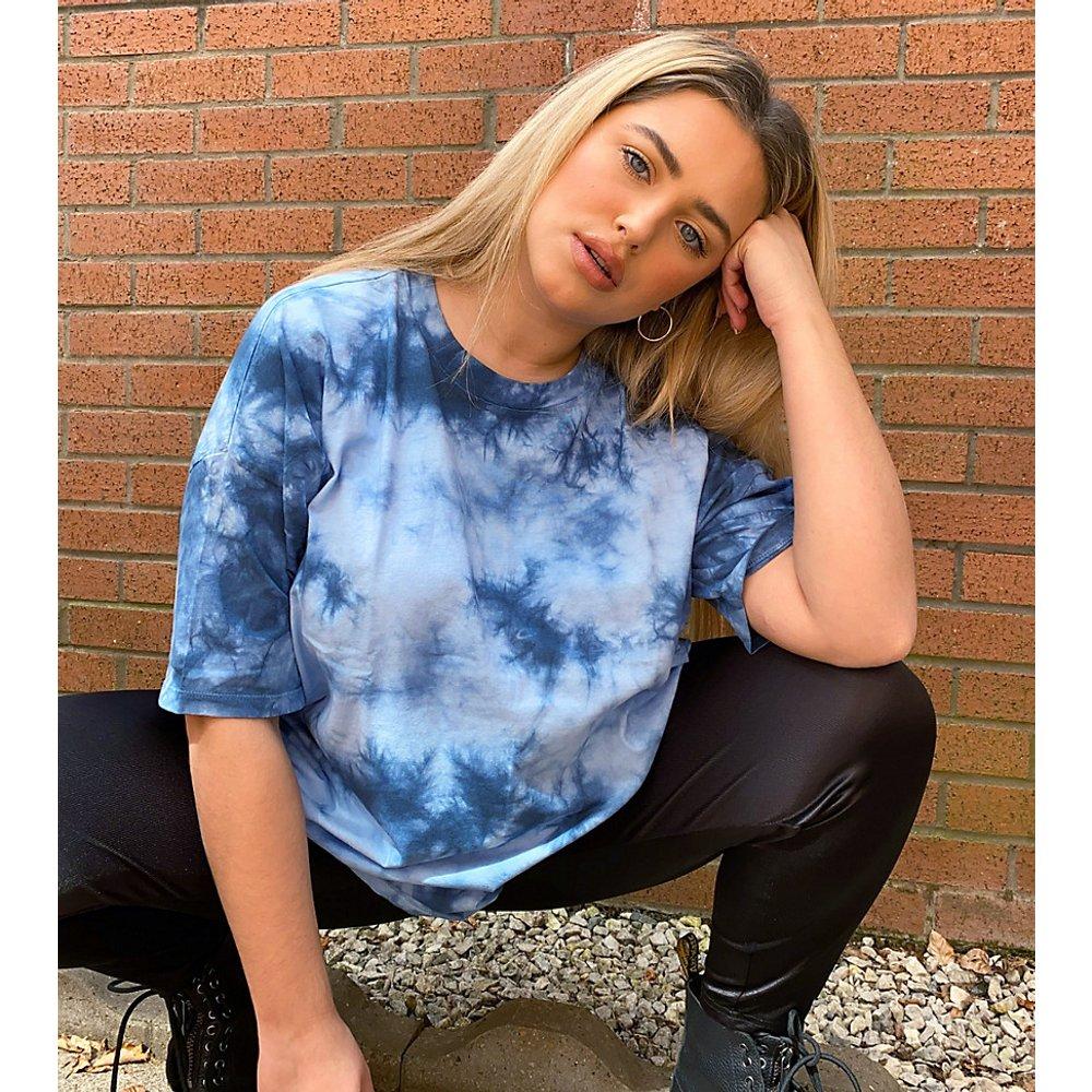 ASOS DESIGN Curve - T-shirt oversize effet tie-dye ton sur ton - ASOS Curve - Modalova