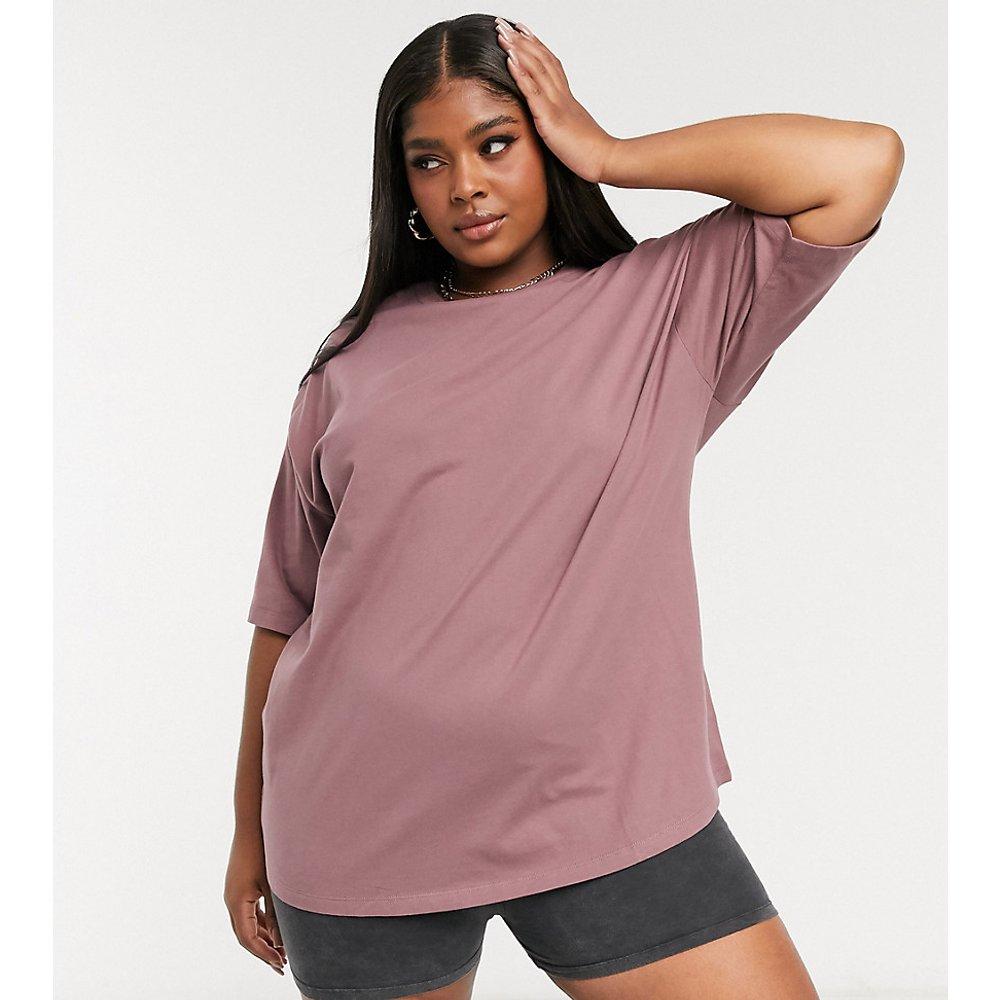 ASOS DESIGN Curve - Ultimate - T-shirt oversize -Vison - ASOS Curve - Modalova