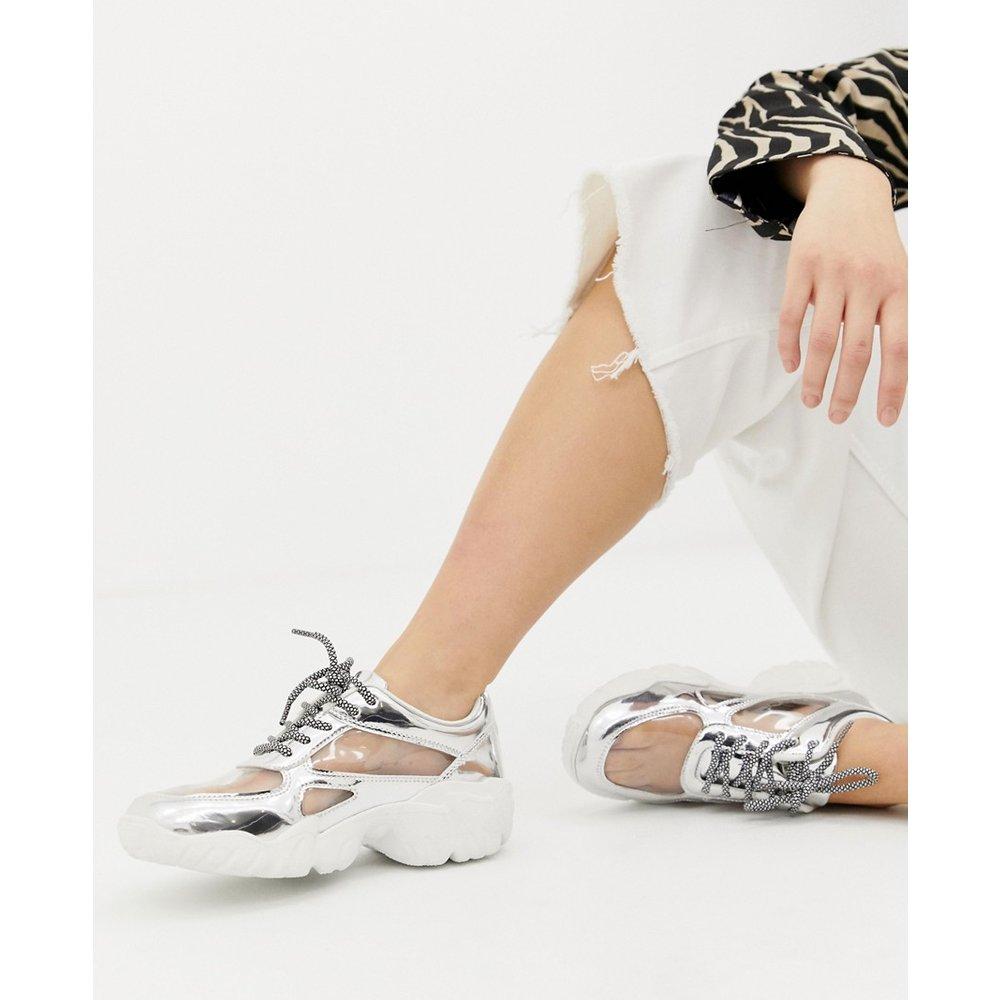 Drench - Baskets transparentes à lacets - ASOS DESIGN - Modalova
