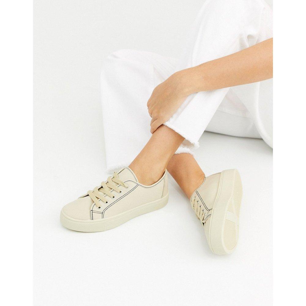 Dusty - Baskets à lacets - Fauve - ASOS DESIGN - Modalova