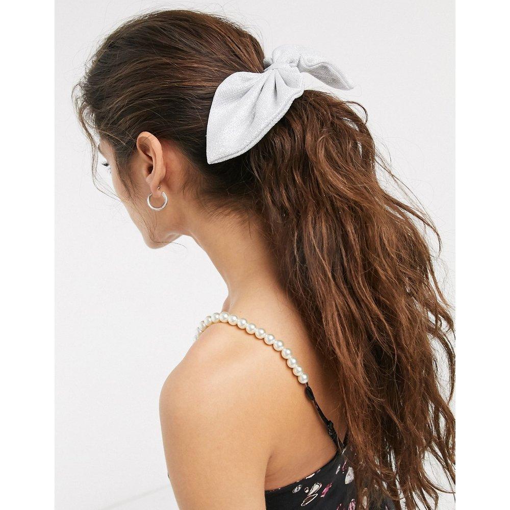 Élastique à cheveux avec nœud - scintillant - ASOS DESIGN - Modalova
