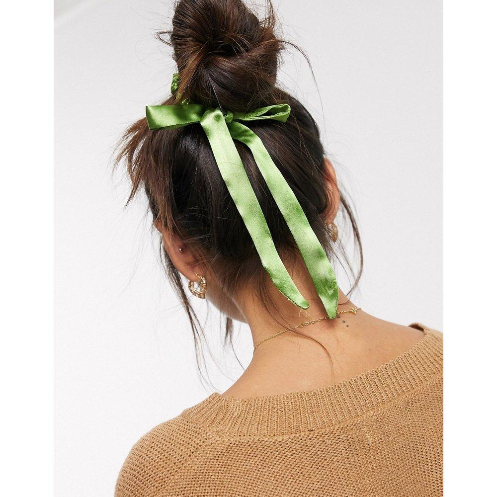 Élastique à cheveux avec nœud en satin - ASOS DESIGN - Modalova