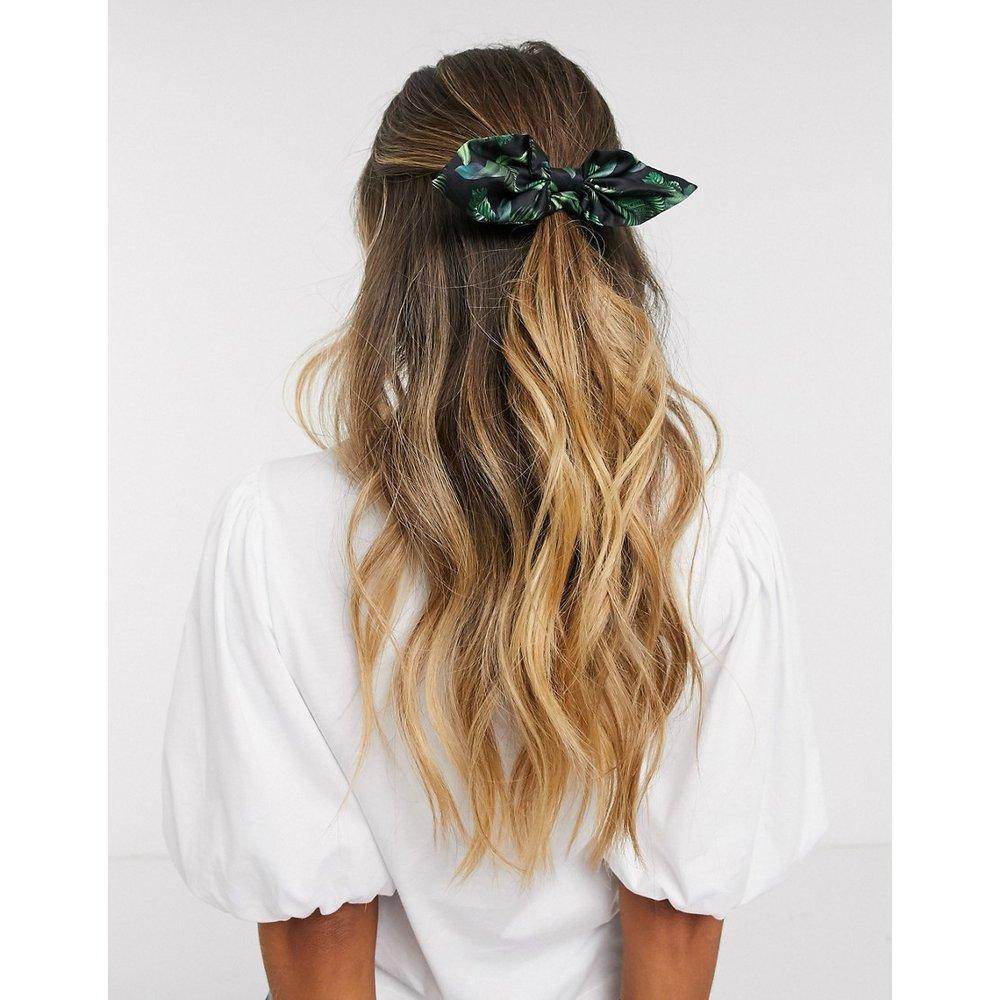 Élastique à cheveux avec nœud et imprimé palmier - ASOS DESIGN - Modalova