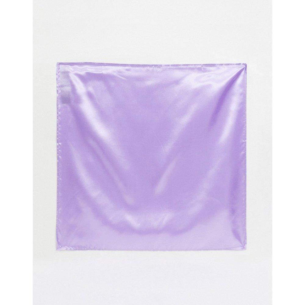Foulard en satin et polyester - Lilas - ASOS DESIGN - Modalova