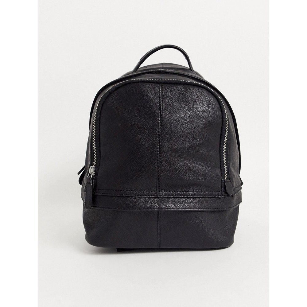 Harvard - Mini sac à dos - Cuir - ASOS DESIGN - Modalova