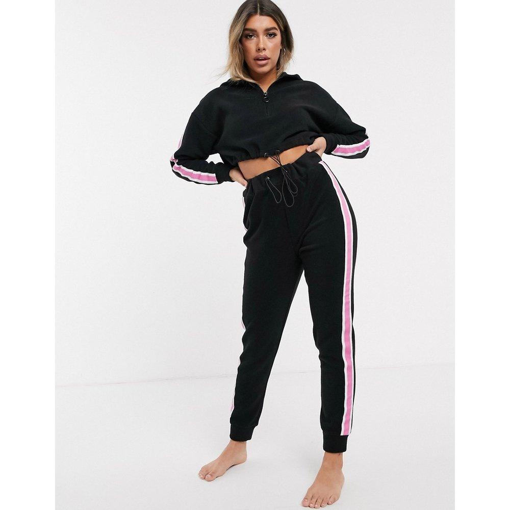 Hoodie confort en micro polaire avec cordons et leggings à taille haute - ASOS DESIGN - Modalova