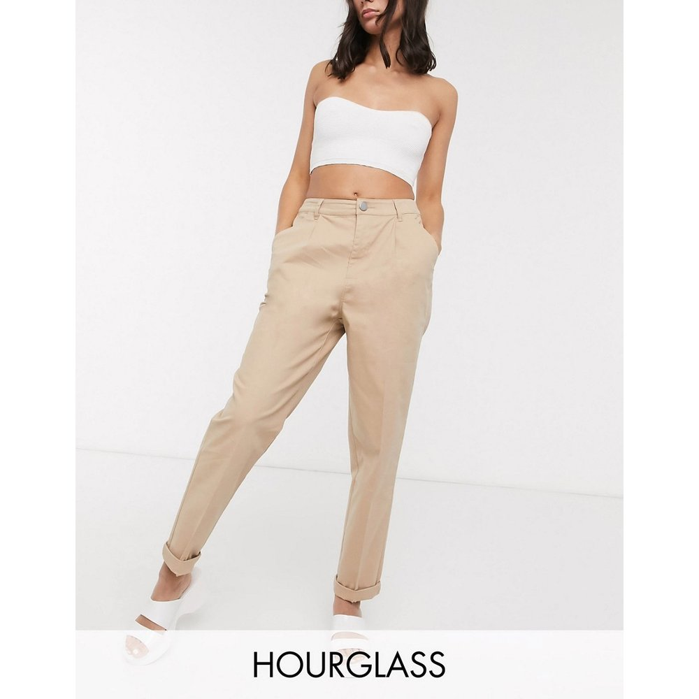 Hourglass - Pantalon chino - Taupe - ASOS DESIGN - Modalova