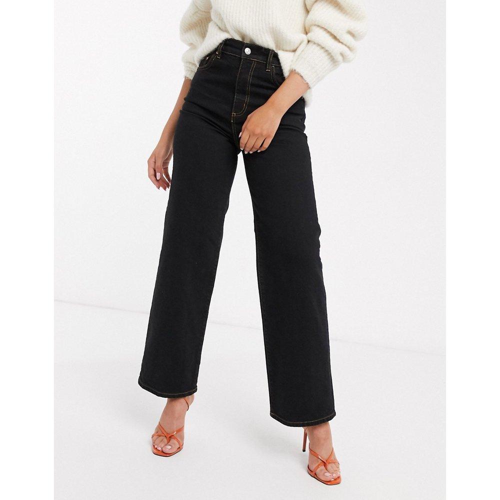 Jean large à taille haute en tissu stretch confortable - ASOS DESIGN - Modalova