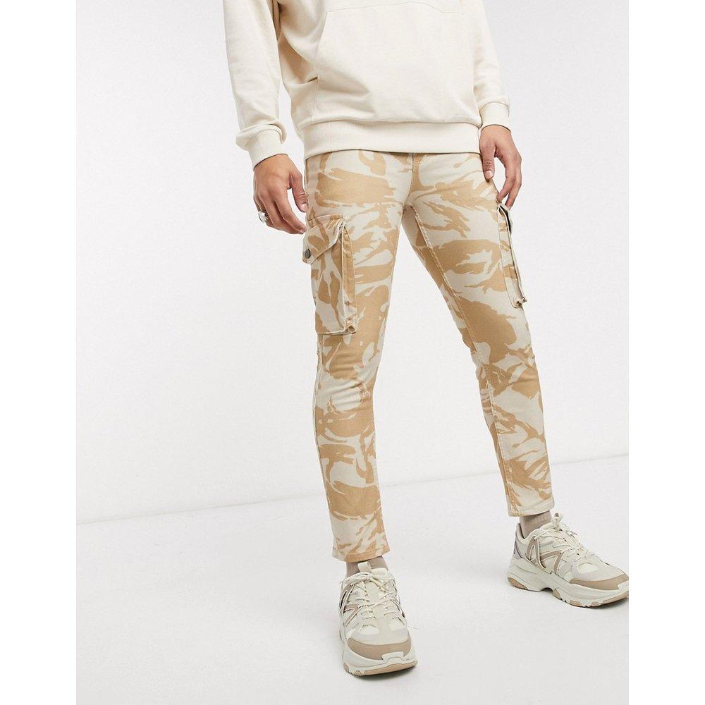 Jean skinny à poches cargo et imprimé camouflage - ASOS DESIGN - Modalova