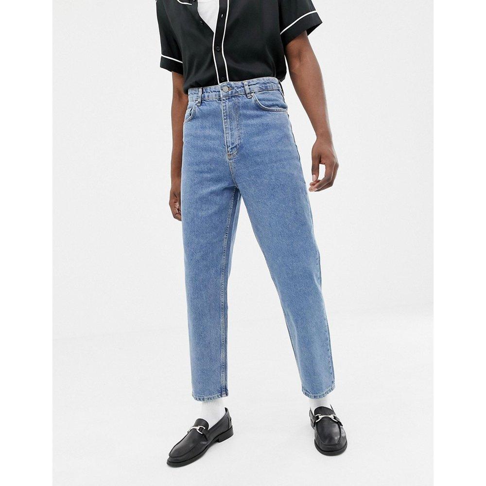 Jean taille haute - délavé moyen vintage - ASOS DESIGN - Modalova