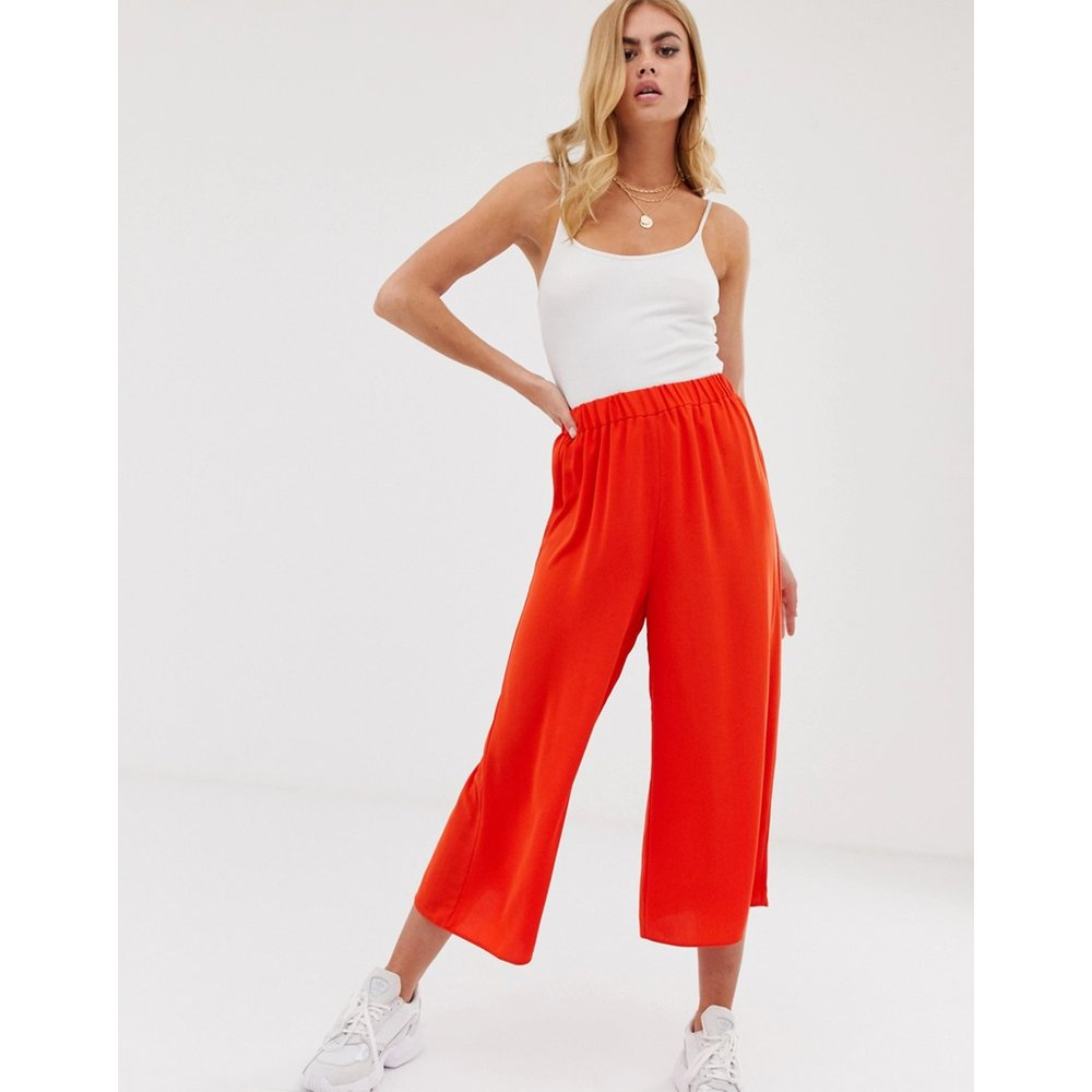 Jupe-culotte avec taille élastiquée - ASOS DESIGN - Modalova