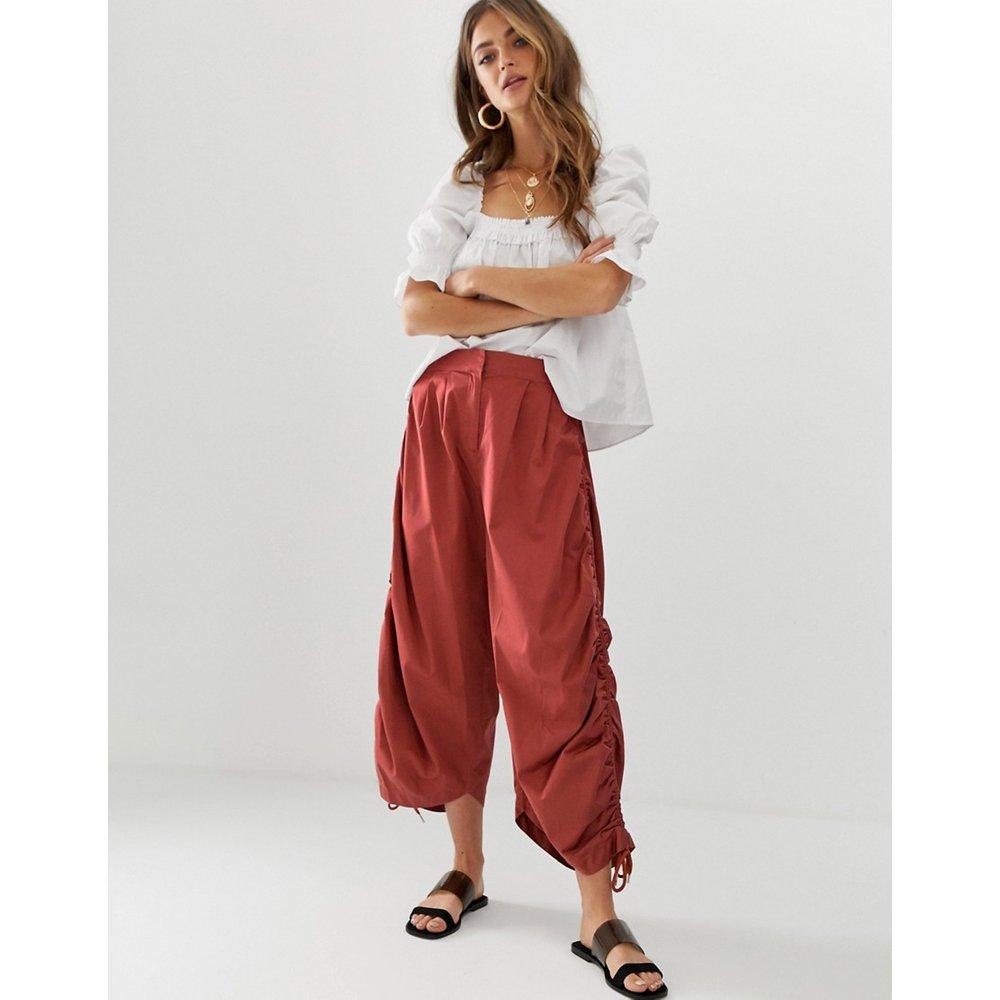 Jupe-culotte fonctionnelle de qualité supérieure avec détail froncé - ASOS DESIGN - Modalova