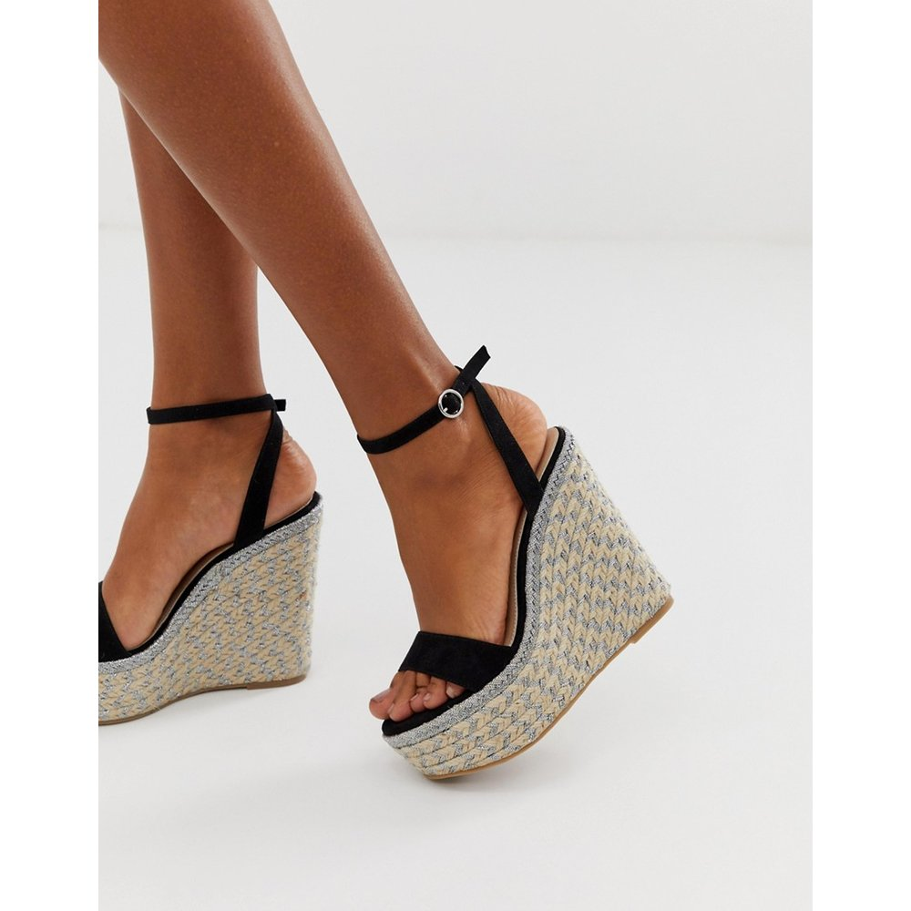 Justina - Chaussures compensées style espadrilles - ASOS DESIGN - Modalova
