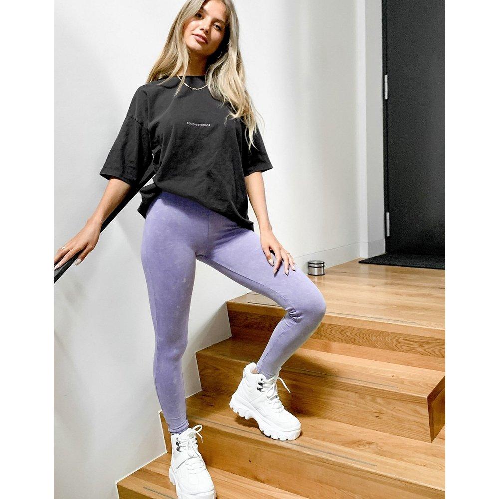 Legging délavé - ASOS DESIGN - Modalova