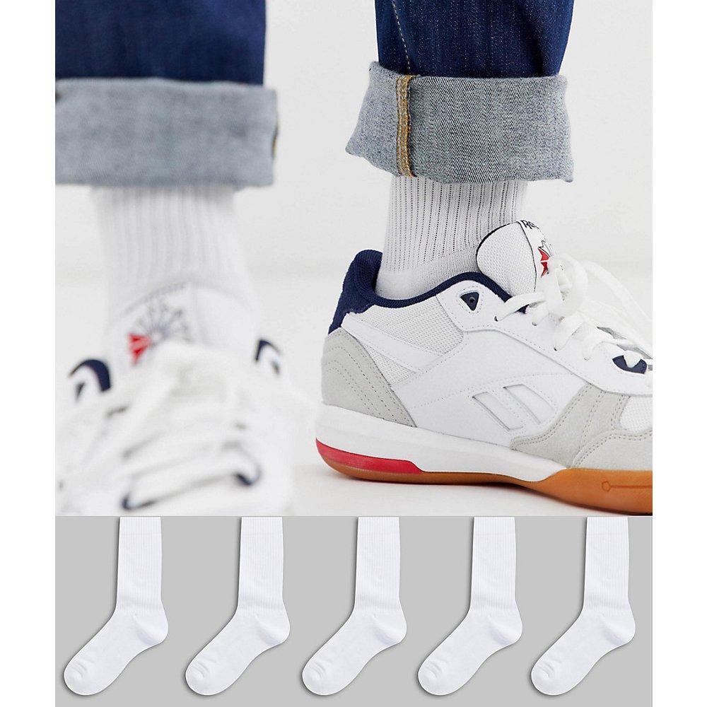 Lot de 5 paires de chaussettes sport - - Économie - ASOS DESIGN - Modalova