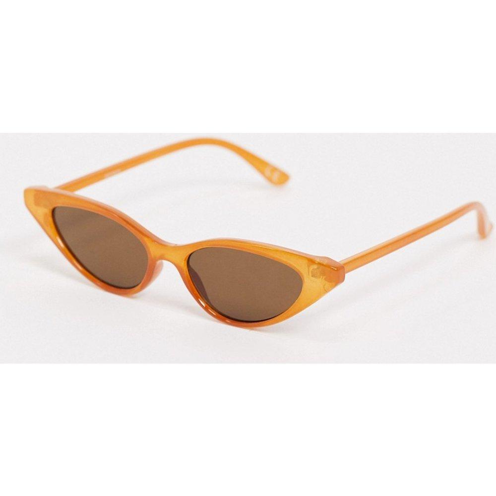 Lunettes de soleil yeux de chat - Rouille - ASOS DESIGN - Modalova