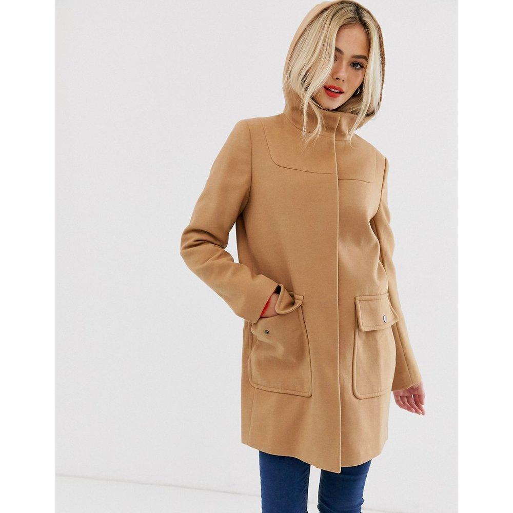 Manteau ajusté à ceinture - ASOS DESIGN - Modalova