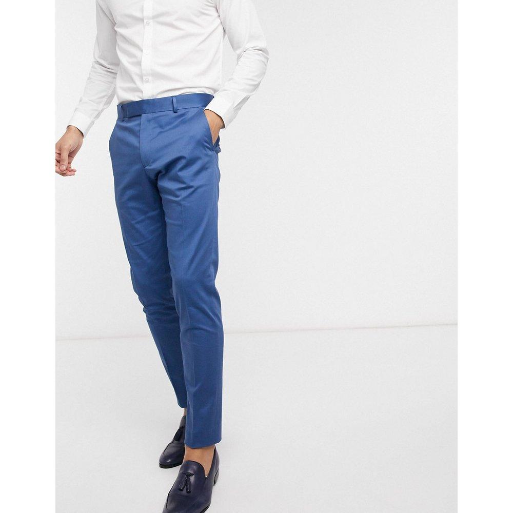 Mariage - Pantalon de costume slim en coton stretch - ASOS DESIGN - Modalova